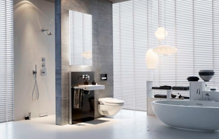 dusch wc. Black Bedroom Furniture Sets. Home Design Ideas